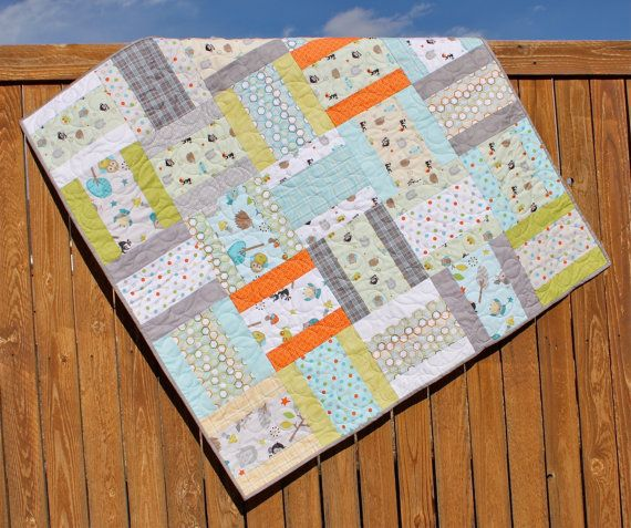 189 best Baby quilts images on Pinterest | Creative, Fabric strips ... : fat quarter baby quilts - Adamdwight.com
