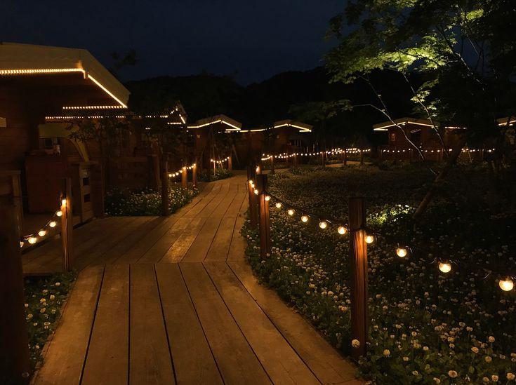 京都グランピング るり渓GRAX 夜景