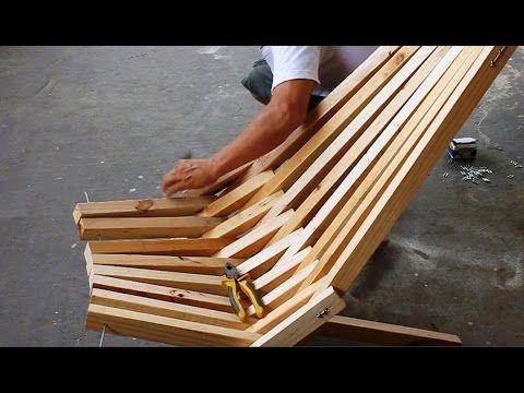 How To Make A Folding Cedar Lawn Chair Diy Woodworking