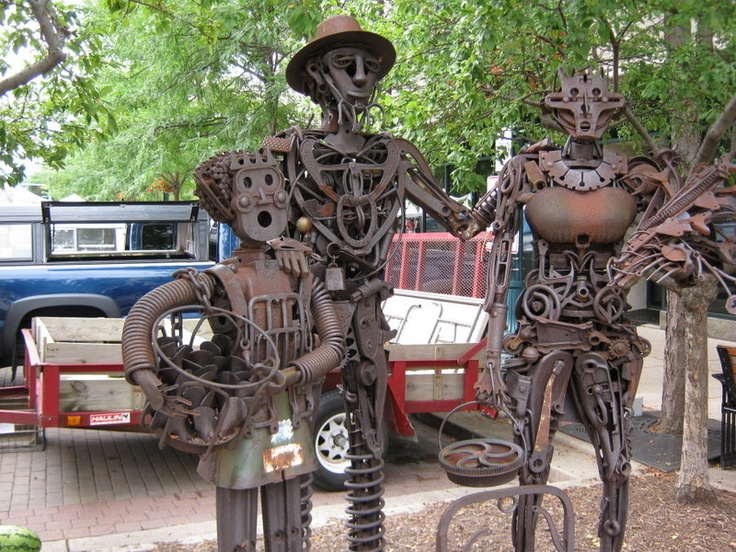 Amazing Unique Garden Junk Art | Thumb Of 2010 08 30/gardengus/219e84