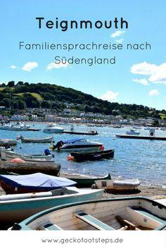Englisch lernen im Urlaub? Eine Sprachreise für Familien macht's möglich. Lies hier, wie uns der Sprachurlaub in Teignmouth gefallen hat.