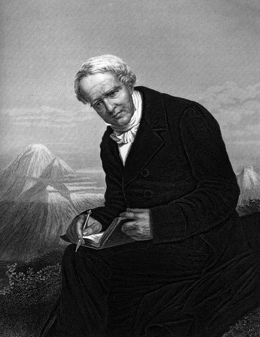 Alexander von Humboldt - Geographer, naturalist, explorer, and influential proponent of Romantic philosophy and science.