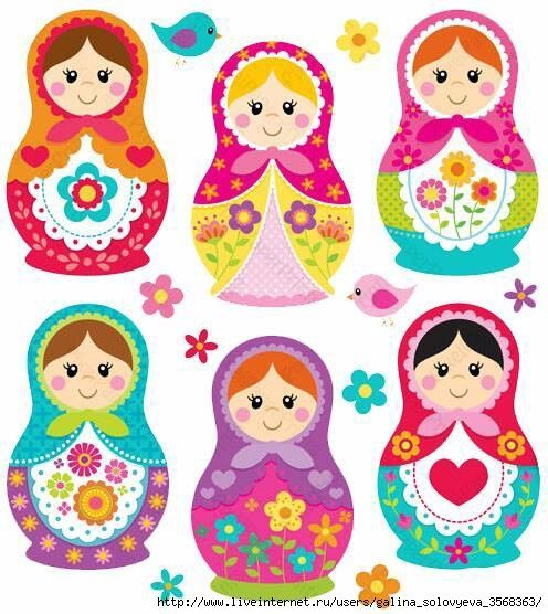 Matryoshka Dolls / Nesting Dolls : More Pins Like This At FOSTERGINGER @ Pinterest
