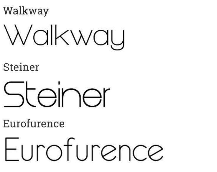40 super sleek fonts for clear web design