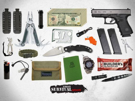 EDC 564x423 Essential EDC Urban Survival Gear For When SHTF