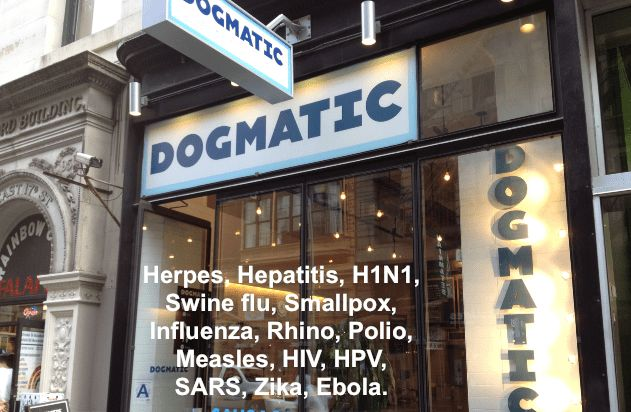 How Dogma coalesces out of the ethers is a multi-faceted question and one that is best not examined here. http://www.newmedicineonline.com/viruses/  #GermanNewMedicine #GNM #AlternativeMedicine #WellBeing #Wellness #Kindness #AIDS #birdflu #Ebola #h1n1 #Hamer #Hepatitis #herpes #HIV #hpv #influenza #measles #polio #SARS #swine #flu #virus #Zika