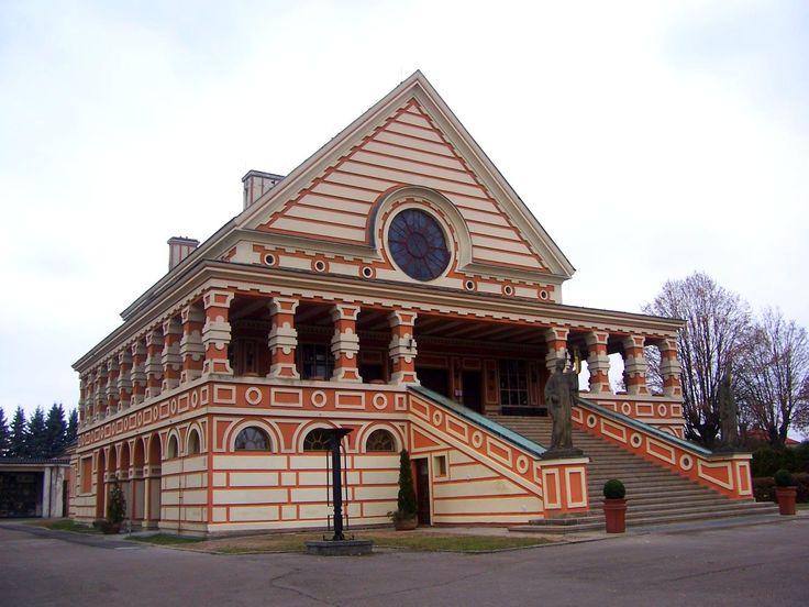 Crematory, Pardubice, Czech Republic