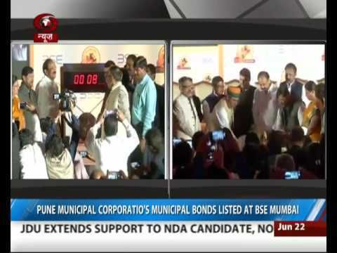 Pune Municipal Corps Bonds listed at BSE Mumbai https://t.co/yAVoKfN2Fk #NewInVids https://t.co/VrqDlRz9Nu #NewsInTweets