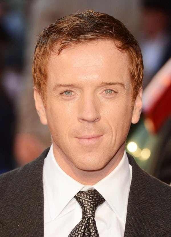 Hottest Red Head Celebrities List Of Famous Male Redheads Damian Lewis Red Head Celebrities Redhead Men