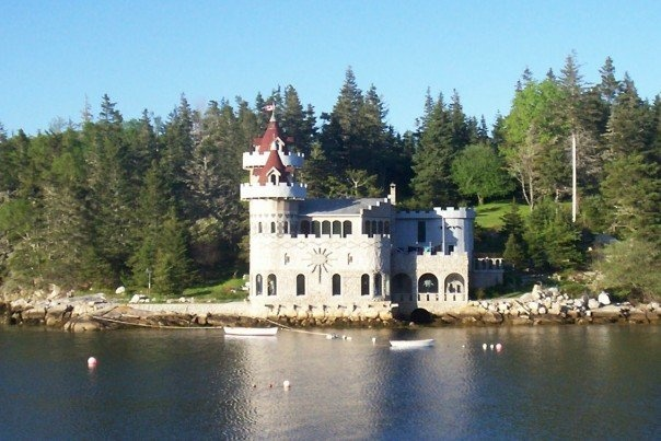 South West Cove Island Castle
