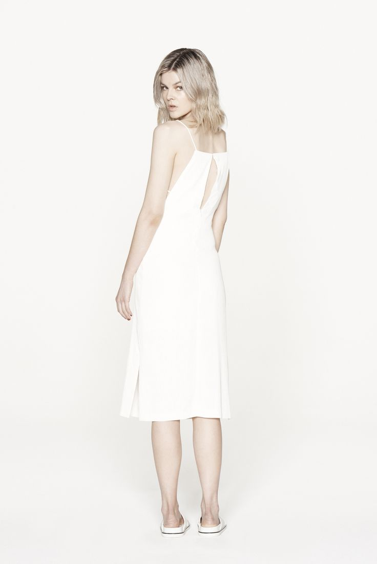THIRD FORM RESORT 15 | PARTING CAMI DRESS #thirdform #fashion #streetstyle #minimal #trend #chic #dress #natural