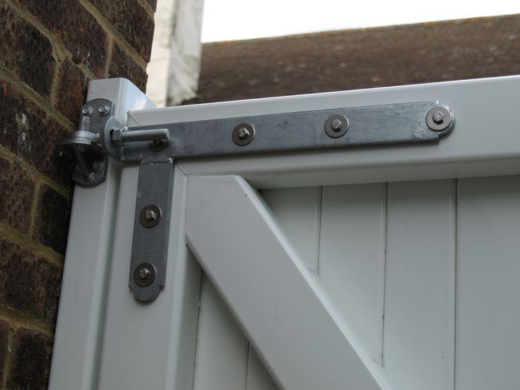 Fensys UPVC plastic gate braced galvanised high specification adjustable hinge