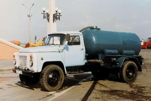 шламонакопитель КО-503В шасси ГАЗ-53-12