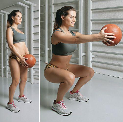 O treino de Circuito Funcional trabalha o corpo todo!