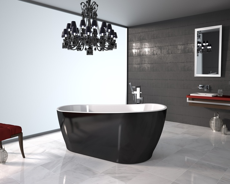 #Caroma Noir #bathroom range