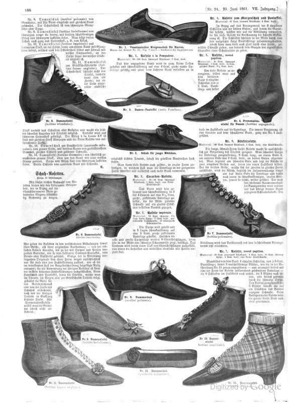 June 1861, Der Bazar: Illustrirte Damen-Zeitung - Google Books