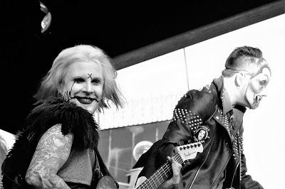 Black and white photography: Rob Zombie in black and white