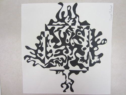 Notan art project