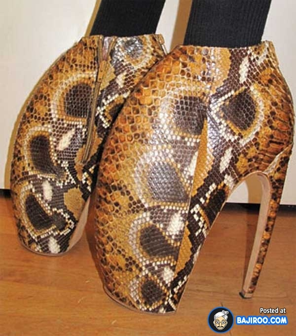 25 Most Ugly Shoes For Crazy People Ewwwww ! they look like crab claws !