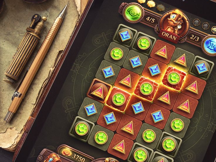 iOs Game / Match-3 by Mike | Creative Mints