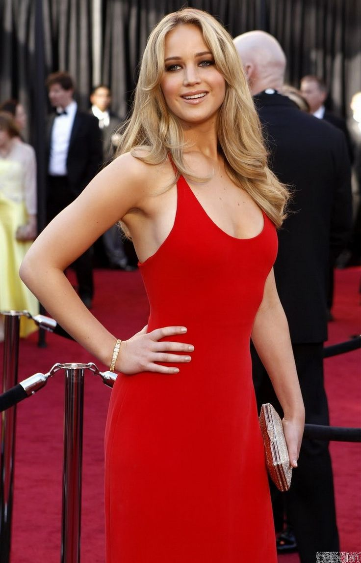 jennifer lawrence red dress - Google Search