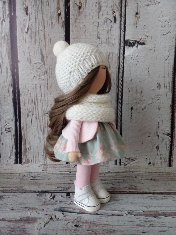 Tender doll Interior doll Tilda doll Art doll by AnnKirillartPlace