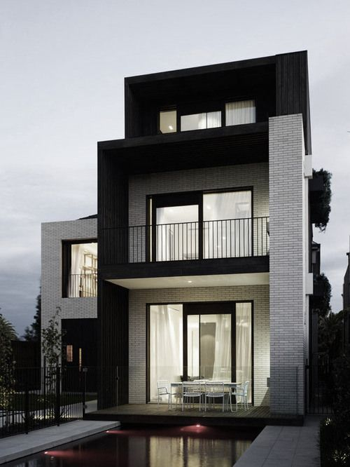 Modern Architecture - not my style at all, but I really like this one! Would totally live here ;)