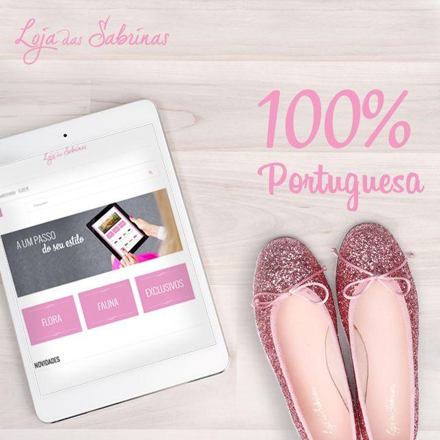 Celebre o Dia da Produção Nacional com a Loja das Sabrinas. Uma marca Portuguesa com certeza. ☺