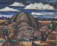 New Mexico by Marsden Hartley