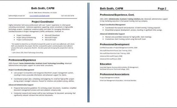 Resume Guide Downloadable Resume Template Resume Format Examples Resume Examples Free R 2020