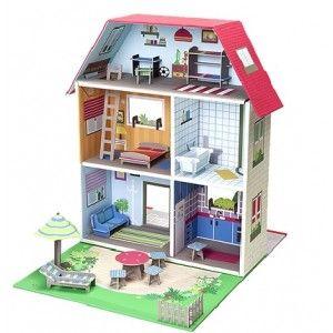 Murielle - City House #Oyunjax #Organik #Oyuncak  Murielle City House gerçek bir ev hayatından esinlenerek, canlı renkler kullanılarak tasarlanmıştır.