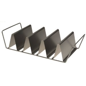 Chicago Metallic Baked Taco Rack for making your own corn tortilla taco shells.