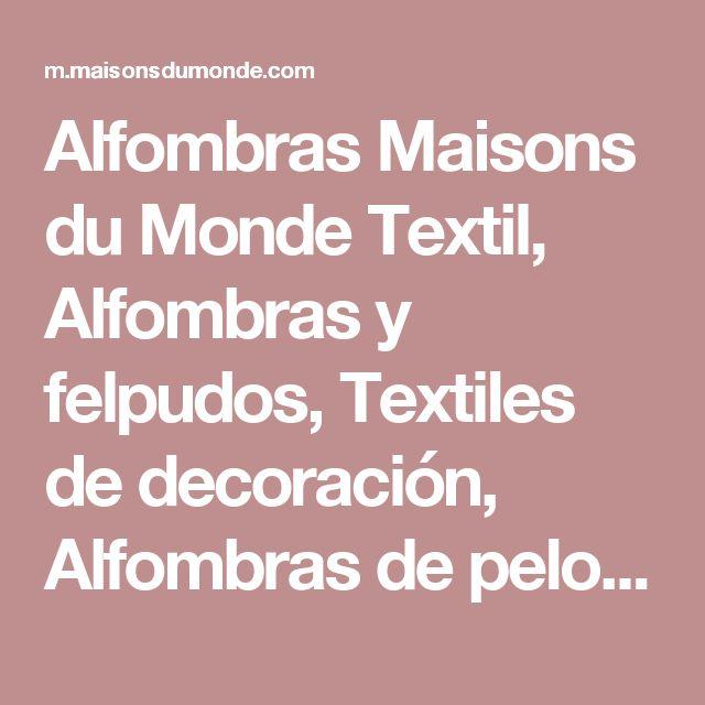 Alfombras Maisons du Monde Textil, Alfombras y felpudos, Textiles de decoración, Alfombras de pelo corto, Exótico, Moderno, Marinero, Clásico-chic