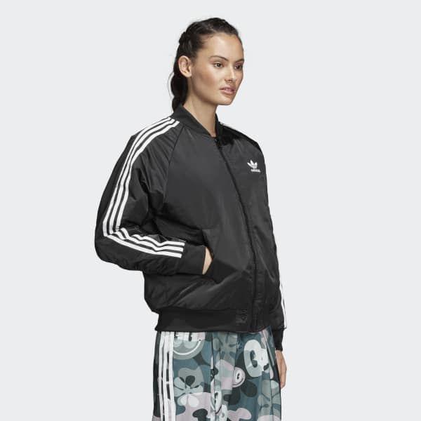 adidas Bomberjacke - schwarz | adidas Deutschland | Adidas ...