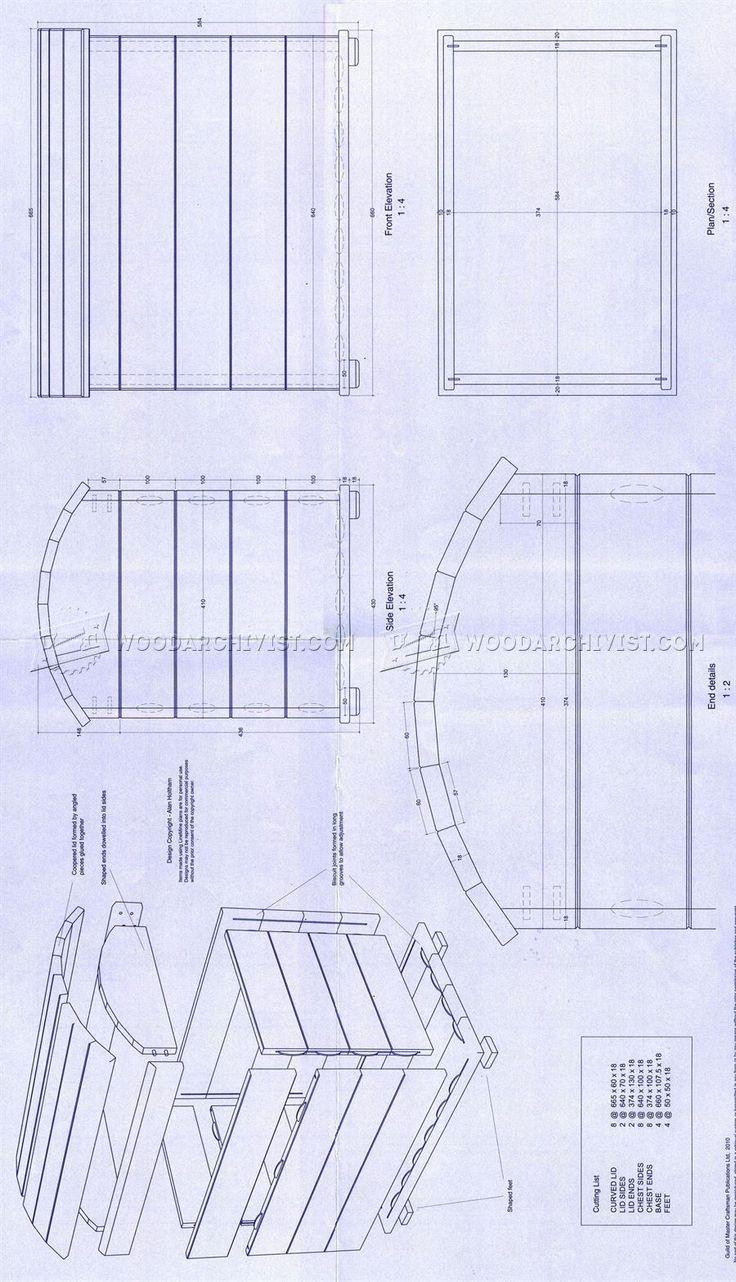Treasure Chest Plans - Furniture Plans