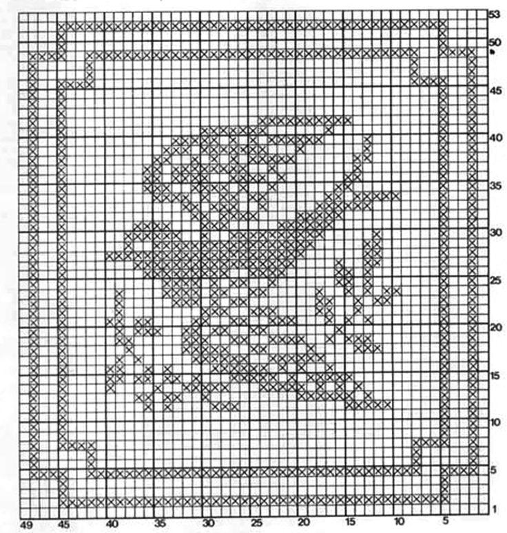 Подушка Милая ласточка крючок схема