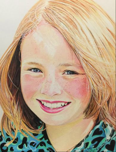 Wendy layne - how to draw the perfect skin tones in colored pencil ...