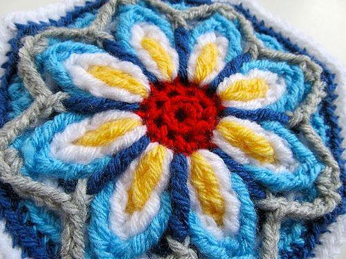 Crochet+Mandala+Coat+Pattern | Overlay Crochet Mandala CAL