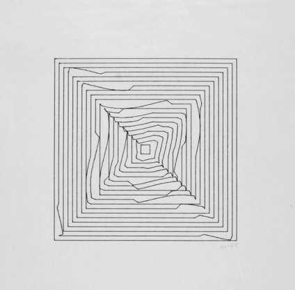 Vera Molnar, Hypertransformations, variation