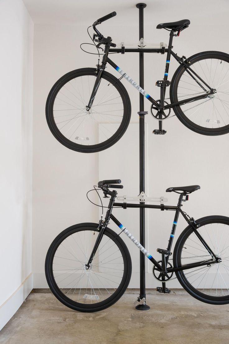 best 25 garage bike rack ideas on pinterest garage bike. Black Bedroom Furniture Sets. Home Design Ideas