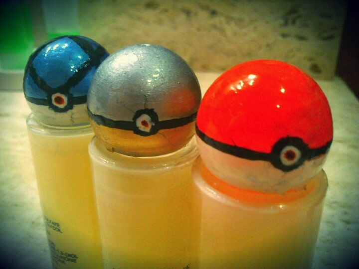 That your little sister paints the tops of your shampoo like a pokeballs.