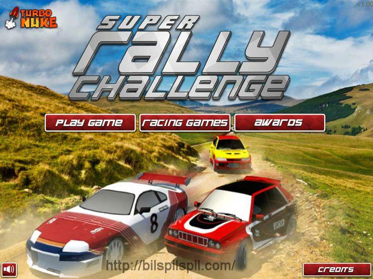 http://bilspilspil.com/super-rally-challenge-spil/ - Super Rally Challenge Spil - Pick en rally bil og køre den til sejr. Pisk mål tid til at gå videre til næste niveau. Opgrader din bil med de penge, du tjener.