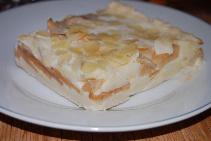 Fotorecept: Francúzska jablková torta