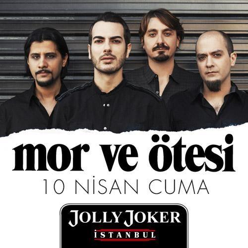 Yer: Jolly Joker Istanbul .. Zaman: 10 Nisan 22.00 . @mvoofficial @JOLLYJOKERist #8Olog #Konser