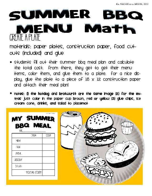 24 best MayFoods images on Pinterest Classroom ideas, Creative - food order form