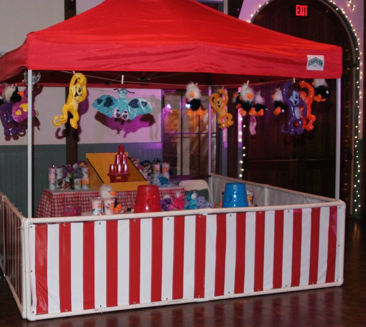 Carnival Games and Booths with prizes for Company picnic, and private parties, churches and schools. Choose from Ring Toss, Black Hole, Potty Toss, One Two Three Red Light, Tic Tac Toe, Down the Drain, Clown toss.
