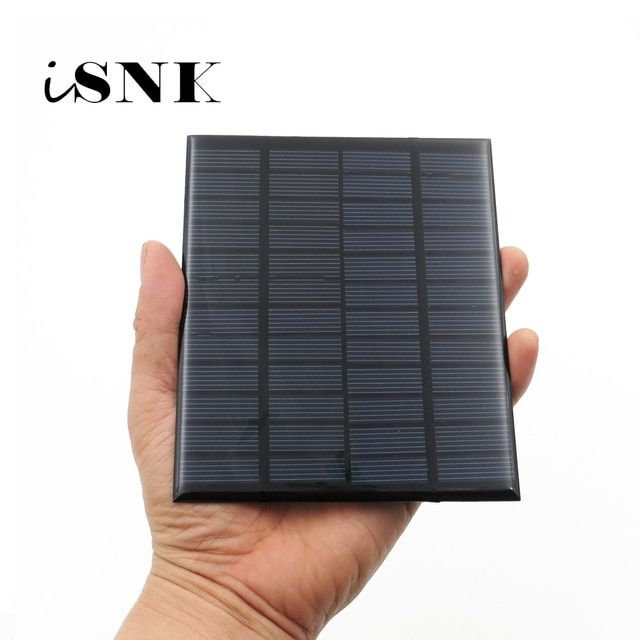 Solar Panel 12v 18v Mini Solar System Diy For Battery Cell Phone Chargers Portable 1 8w 1 92w 2w 2 5w 3 Solar Power System Solar Energy Panels Solar Technology