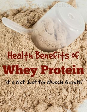 Studies have revealed that whey protein has a high nutritional value as well as various other health benefits. (Source: http://www.lifestylemunch.com/health-benefits-of-whey-protein/)