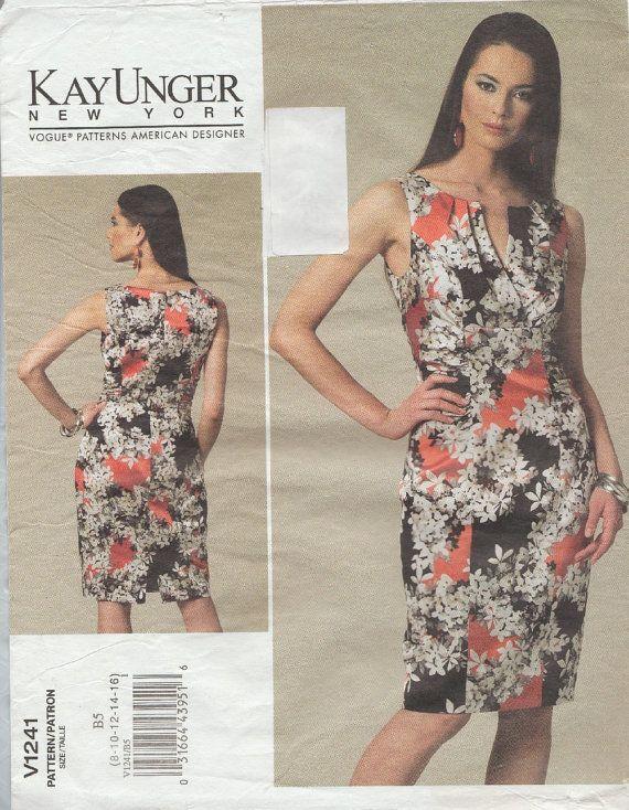Моде 1241 / Дизайнер Модель Швейной Кей Унгер / Платье / Размер 8 10 12 14 16