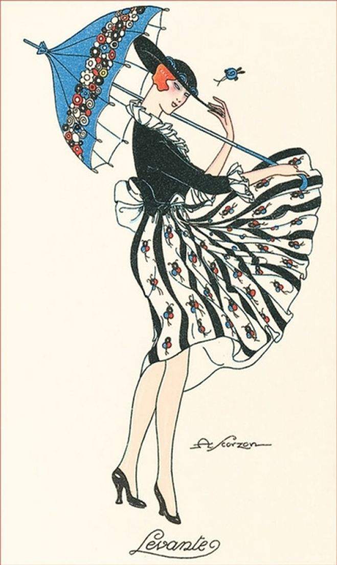 Vintage Italian advertising poster by Amos Scorzon, early 20th century